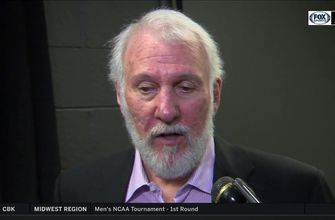 Gregg Popovich: 'Manu Ginobili was great in the third quarter' | Spurs Live