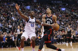 DeRozan has 29, Raptors win 11th straight, beat Mavs 122-115