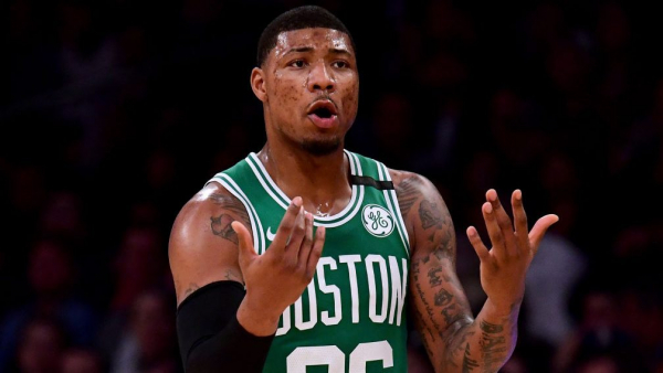 Report: Celtics' Marcus Smart to have surgery on thumb, hopes to return for playoffs
