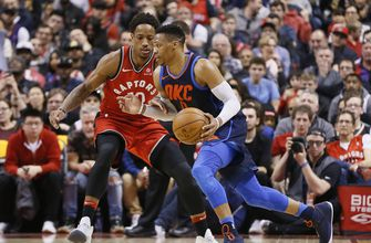 Westbrook, Thunder end Raptors' 11-game win streak