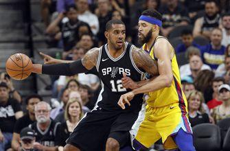 Aldridge's double-double fuels Spurs by Warriors, 89-75
