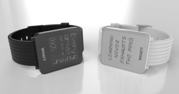 There's now a smartwatch for fans of inspirational quotes