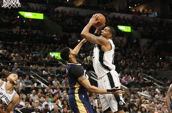 Aldridge, Murray help Spurs overcome Pelicans, 98-93