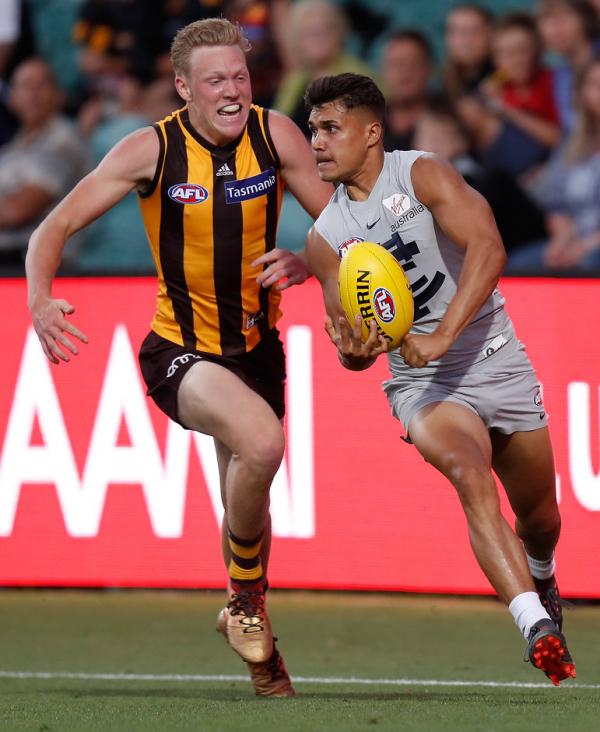 Carlton loses small forward for three months