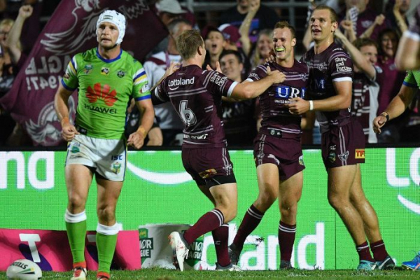 Sea Eagles repel the Raiders, Warriors stay perfect in Sydney