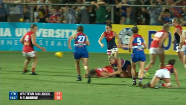 Western Bulldogs sweat on potential suspension of captain Katie Brennan