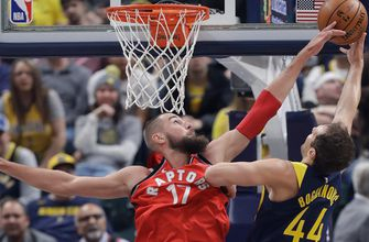 Pacers become late-rallying Raptors' 10th straight victim, 106-99