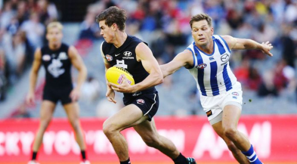Carlton draftee signs three-year extension