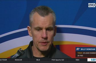 Billy Donovan talks huge victory vs. Toronto