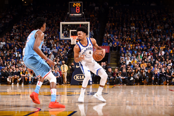 Warriors' Quinn Cook has looked sharp without injured star teammates