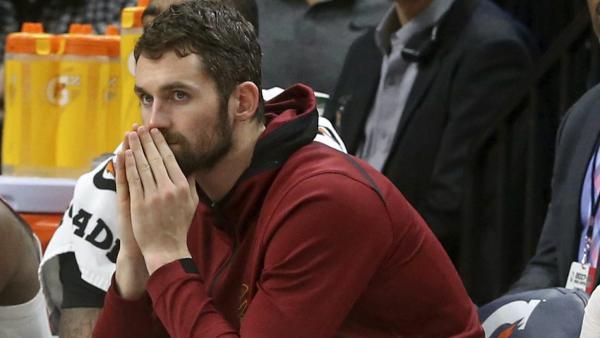 Kevin Love returns to Cavaliers lineup Monday vs. Bucks