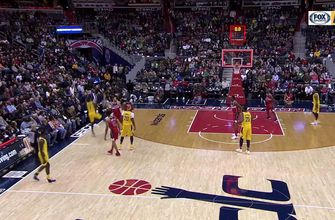 WATCH: Pacers fight back late but lose to Wizards