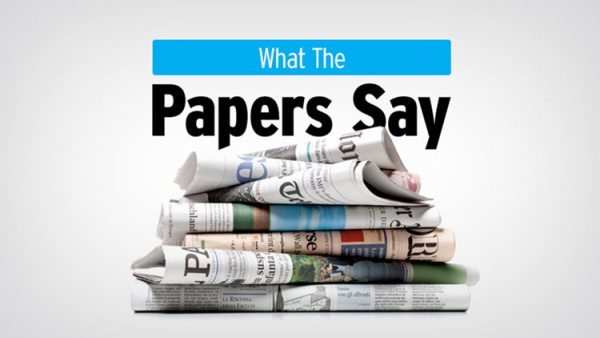 What The Papers Say - March 17