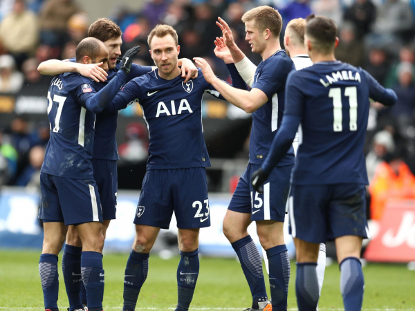 Swift and clinical Tottenham swat Swansea aside with more telling tests still to come