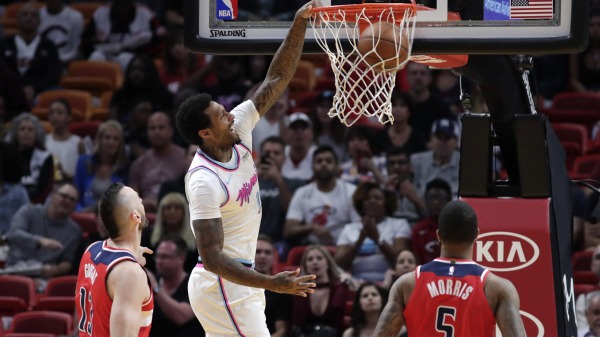Balanced Heat roll past Wizards, 129-102