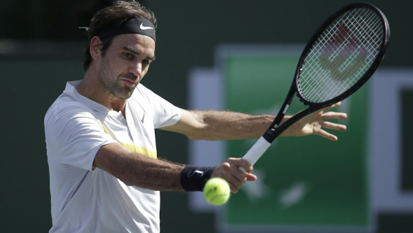 'Fed Express' in a hurry at Indian Wells