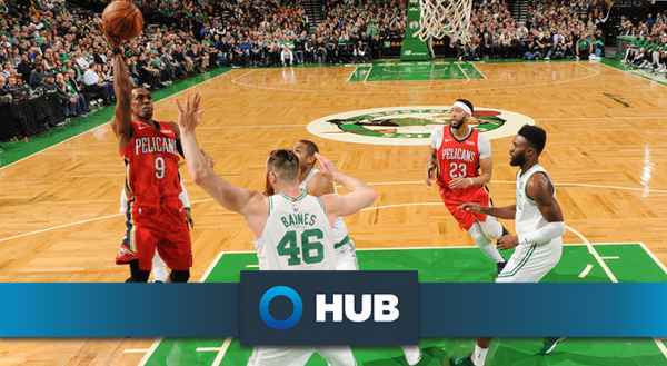 Behind the Numbers presented by HUB International: Celtics at Pelicans (3/18/18)