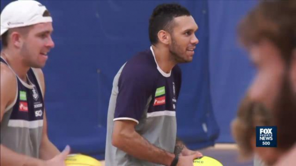 Possible 'future Brownlow Medallist' Harley Bennell returns to senior Fremantle training