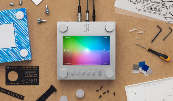 Google have announced a new touchscreen hardware synth based on AI