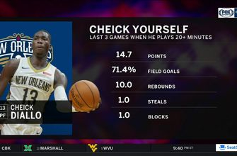 Cheick Diallo averaging over 14 in last 3 games | Pelicans Live