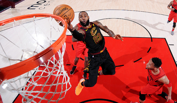 Shorthanded Cavs Can't Complete Comeback in Portland