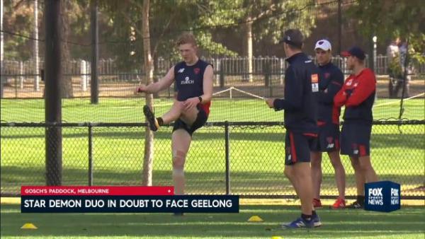 Simon Goodwin flippantly offered resignation as Melbourne coach after pre-season camp was canned