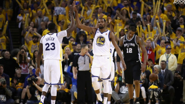 Warriors eliminate Spurs, advance to face Pelicans