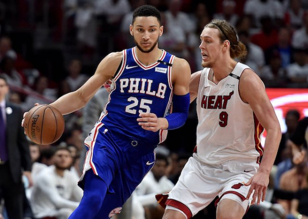 76ers' Ben Simmons Becomes First Rookie Since Lakers' Magic Johnson With Triple-Double In NBA Playoffs