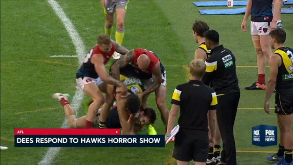 Nathan Jones expects Melbourne to bounce back from horror loss to Hawthorn against Richmond