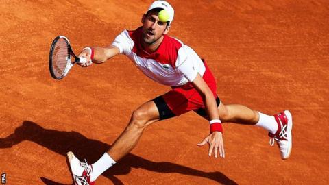 Barcelona Open: Novak Djokovic beaten in second round by Martin Klizan