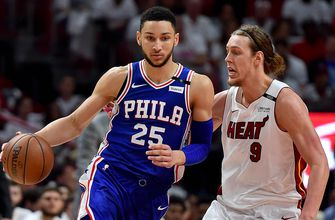 Heat pushed to brink of elimination with Game 4 loss to 76ers