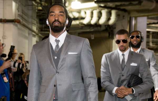 LeBron James bought Cavs teammates matching designer suits to wear to game tonight