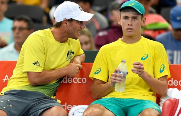 Hewitt, De Minaur to team in Estoril doubles