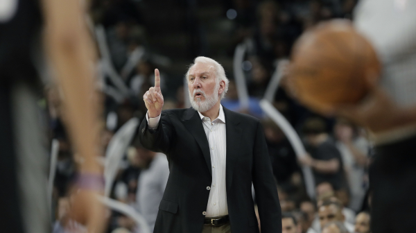 Gregg Popovich to miss Spurs-Warriors Game 5