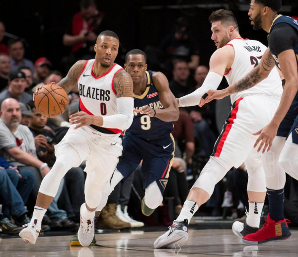 On Pro Basketball: Trail Blazers Shun the Pass, and It Costs Them in the Playoffs