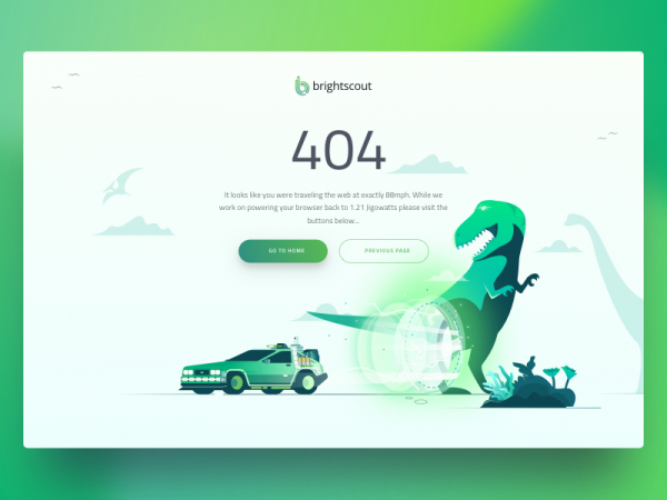 9 examples of clever, creative 404 pages