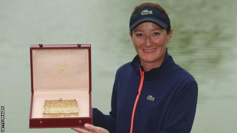 Gwladys Nocera retires and reveals pregnancy after 15 years on Tour