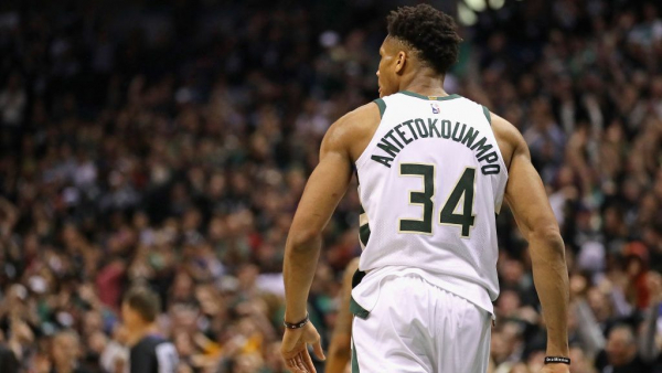 Milwaukee taco restaurant releases security footage showing manager greeting Giannis Antetokounmpo