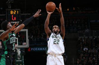 Bucks putting on shooting clinic rarely seen in playoffs
