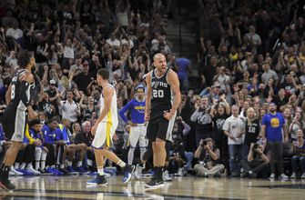 Spurs aim to stay alive vs. Warriors