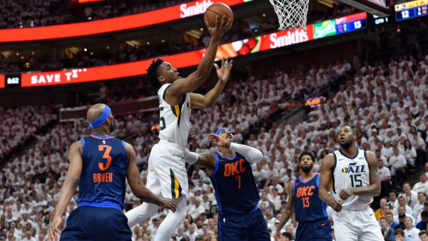 Jazz shut off Thunder in feisty Game 4 win