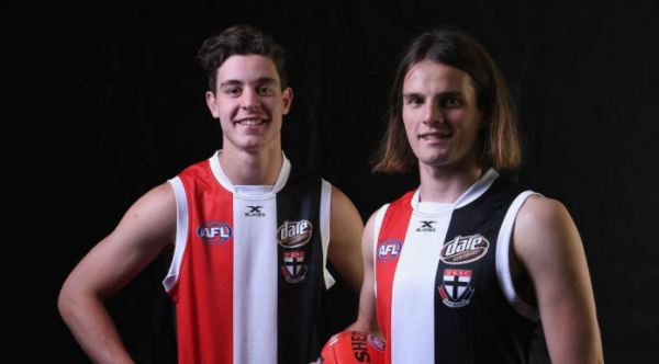 St Kilda re-sign top 10 draftees