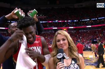 Jrue Holiday: 'We're still hungry and we're not done yet!' | Trail Blazers at Pelicans