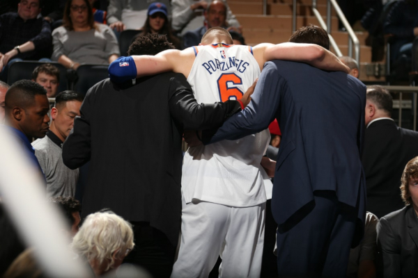 Knicks Owner James Dolan Doesn't Rule Out Porzingis Missing All Of Next Season