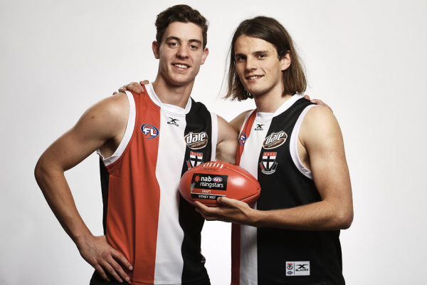 Big day for Saints as two young guns extend