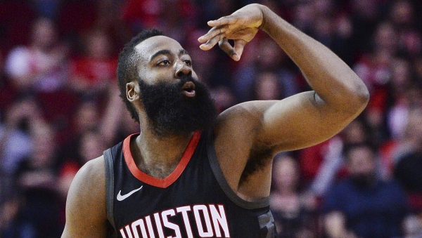 James Harden scores 44 points as Rockets beat Wolves 104-101