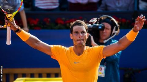 Nadal wins 40th straight clay court set to ease into Barcelona quarters