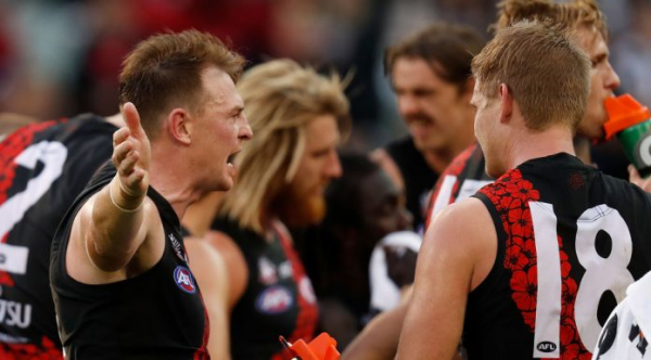"Brendon Goddard's ""demonstrative behaviour"" the talking point of Anzac Day"