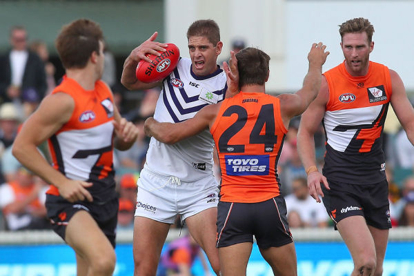 Freo's giant conundrum on ruck 'warrior'