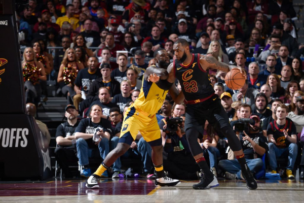 LeBron James Shrugs Off Game 1 Loss to the Pacers